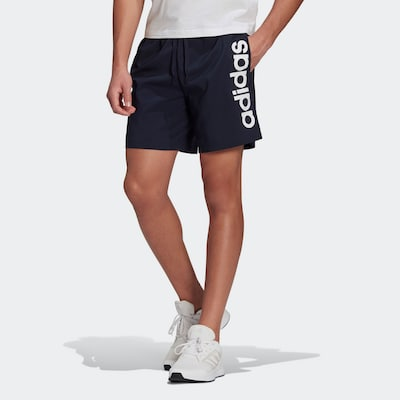 ADIDAS PERFORMANCE Športové nohavice 'Chelsea' - námornícka modrá / biela, Model/-ka