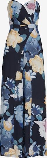 Vera Mont Jumpsuit in marine / rauchblau / pastellgelb / orange / rosé, Produktansicht