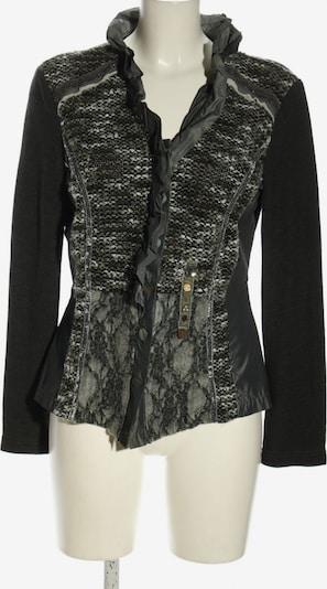 Just White Kurz-Blazer in L in khaki / schwarz, Produktansicht