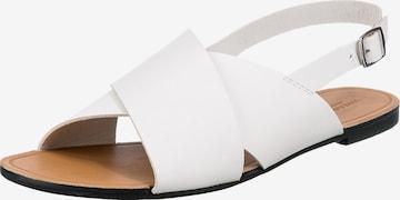 VAGABOND SHOEMAKERS Sandale in Weiß