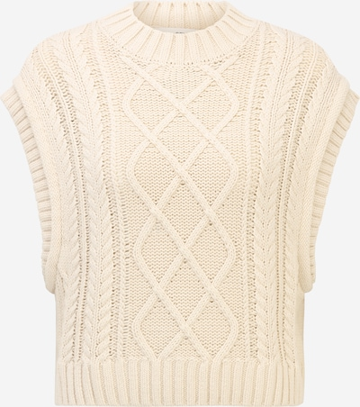 Selected Femme Petite Strickweste 'PIPER' in creme, Produktansicht