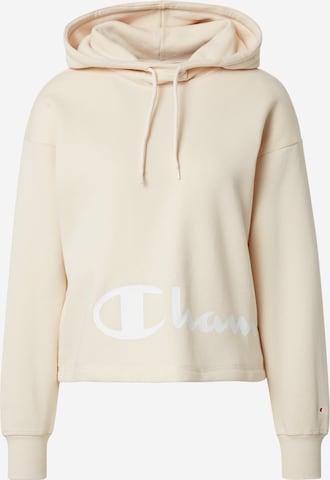 Champion Authentic Athletic Apparel Sweatshirt in Beige