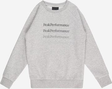 Sweat PEAK PERFORMANCE en gris
