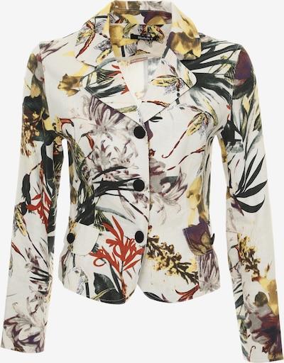 Madam-T Blazers 'ARRI' in de kleur Gemengde kleuren / Wit, Productweergave
