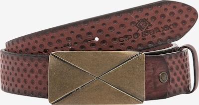 CIPO & BAXX Ledergürtel in rot, Produktansicht