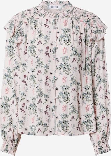 Camicia da donna 'Madita' EDITED di colore verde / rosa chiaro, Visualizzazione prodotti