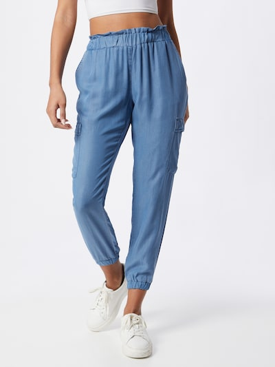 Soyaconcept Cargo trousers in Blue, View model