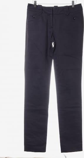 Trussardi High-Waist Hose in M in dunkelblau, Produktansicht