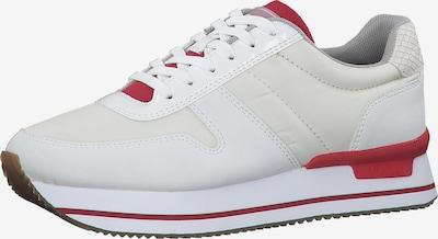s.Oliver Sneaker in rostrot / perlweiß, Produktansicht