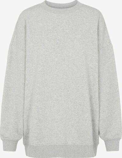 PIECES Sweatshirt 'Chilli' in anthrazit / graumeliert, Produktansicht
