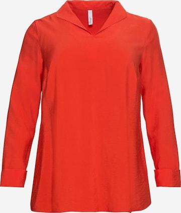 SHEEGO Bluzka w kolorze pomarańczowy