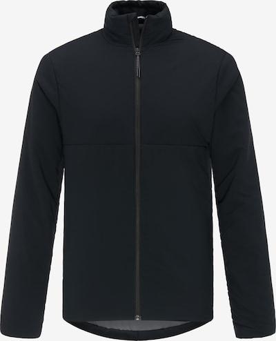PYUA Outdoorjas in de kleur Zwart: Vooraanzicht