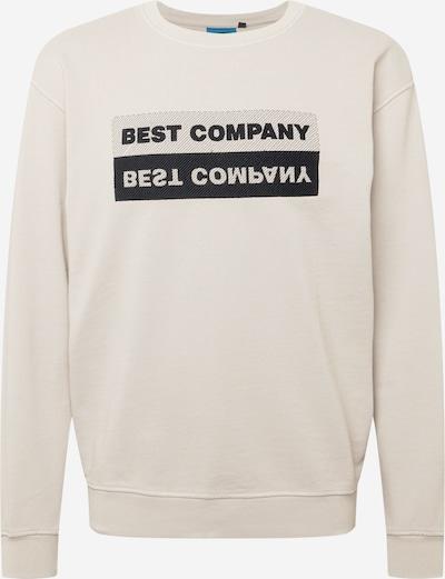 Bluză de molton Best Company pe culoarea pielii / negru, Vizualizare produs