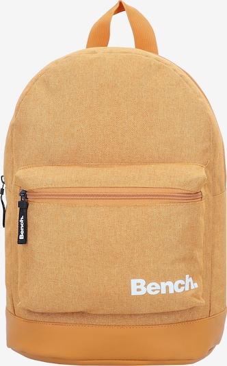 BENCH Rucksack in gelbmeliert / weiß, Produktansicht