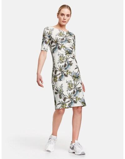 TAIFUN Kleid in mischfarben / weiß, Modelansicht