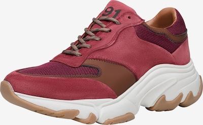 SHOEPASSION Sneaker 'No. 30 WS' in bordeaux, Produktansicht