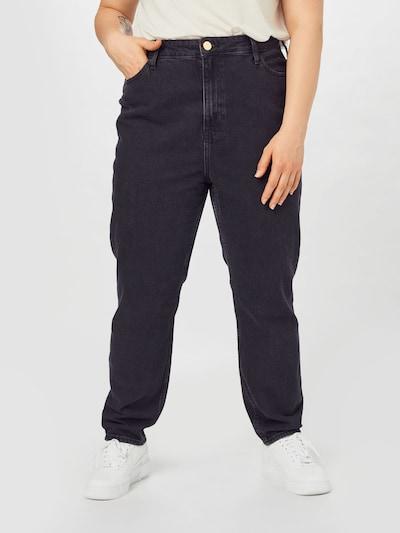 River Island Plus Jeans 'Carrie' in de kleur Black denim, Modelweergave