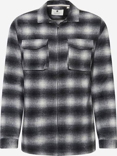 anerkjendt Overhemd 'AKHANKY' in de kleur Donkergrijs / Wit, Productweergave