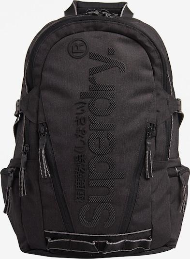 Superdry Rucksack 'Detroit Tarp' in dunkelgrau / schwarz, Produktansicht