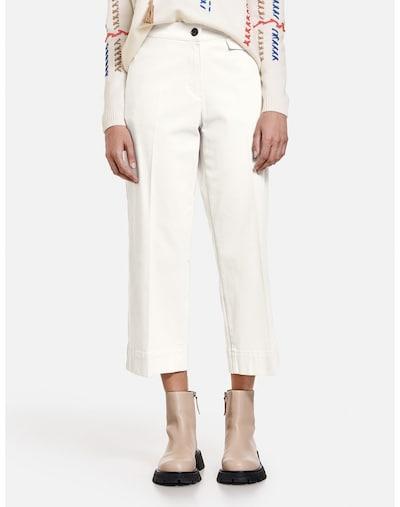 TAIFUN Hose in offwhite, Modelansicht