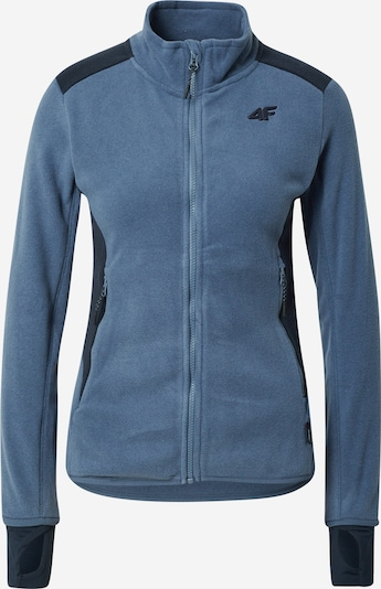 4F Bluza polarowa funkcyjna w kolorze antracytowy / szary dymm, Podgląd produktu