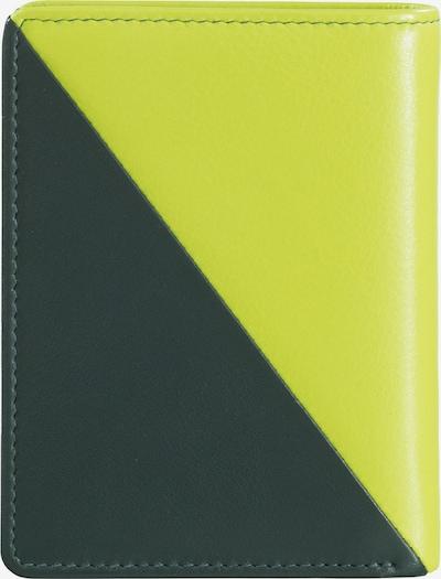 DuDu Portemonnaie in dunkelgrün / mischfarben, Produktansicht