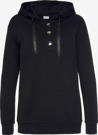 LASCANA Sweatshirt in Black, Item view