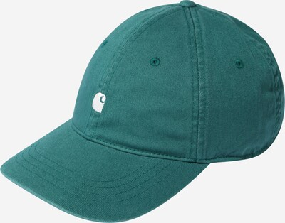 Carhartt WIP Cap 'Madison' in cream / dark green, Item view