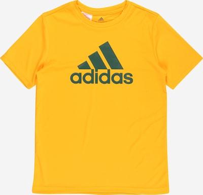 ADIDAS PERFORMANCE Functioneel shirt in de kleur Donkergroen / Sinaasappel, Productweergave
