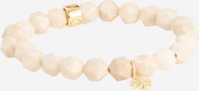 MOSUO JEWELLERY Armband in creme / gold, Produktansicht