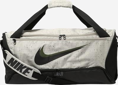 Sportinis krepšys 'Brasilia' iš NIKE, spalva – šviesiai pilka / rusvai žalia / juoda, Prekių apžvalga