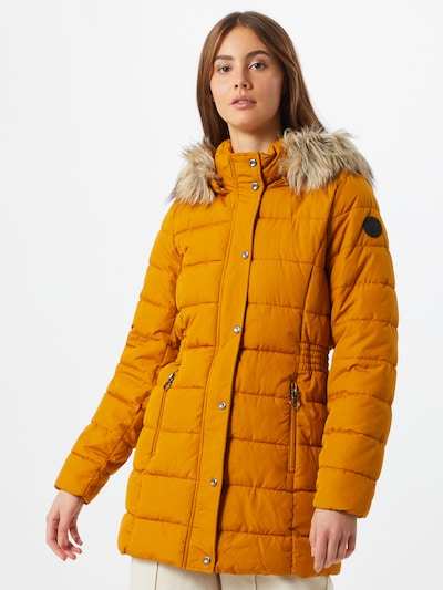 ONLY Winter coat 'Luna' in curry, View model