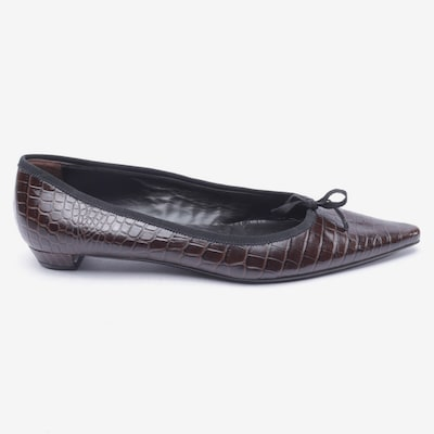 PRADA Flats & Loafers in 41 in Dark brown, Item view