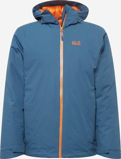 JACK WOLFSKIN Sportjacke 'ARGON' en blau / orange, Vue avec produit