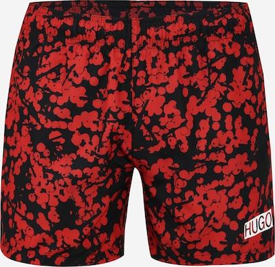 Boxeri 'KOHAMA' HUGO pe roșu / negru, Vizualizare produs