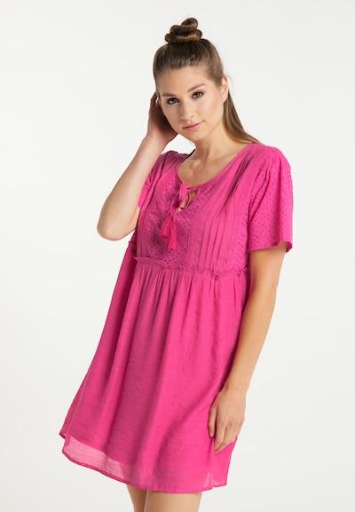 MYMO Sommerkleid in neonpink, Modelansicht