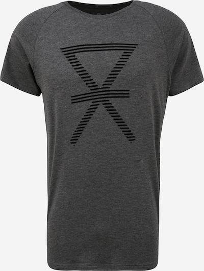 JBS OF DENMARK Тениска в тъмносиво / черно: Изглед отпред