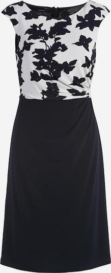APART Jerseykleid stilisierter Blüten-Print in creme / nachtblau, Produktansicht