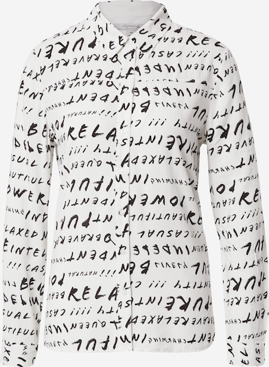 Ci comma casual identity Bluza u crna / bijela, Pregled proizvoda