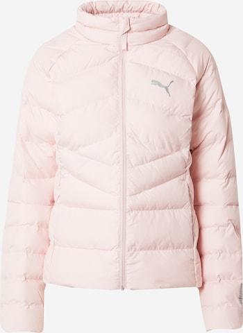 PUMA Αθλητικό μπουφάν σε ροζ