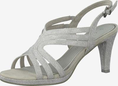 MARCO TOZZI Remienkové sandále - striebornosivá, Produkt