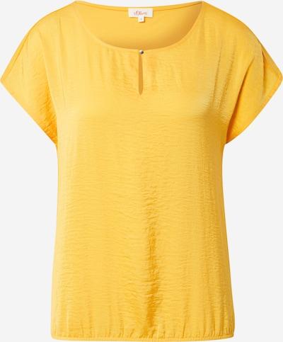 s.Oliver Shirt in de kleur Geel, Productweergave