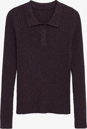 MANGO Poloshirt in lila, Produktansicht