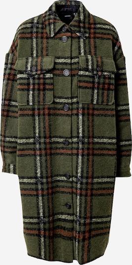 VERO MODA Prijelazni kaput 'CHRISSIE' u smeđa / zelena / crna, Pregled proizvoda