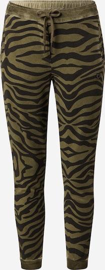 True Religion Pantalon 'Zebra' en olive / noir, Vue avec produit