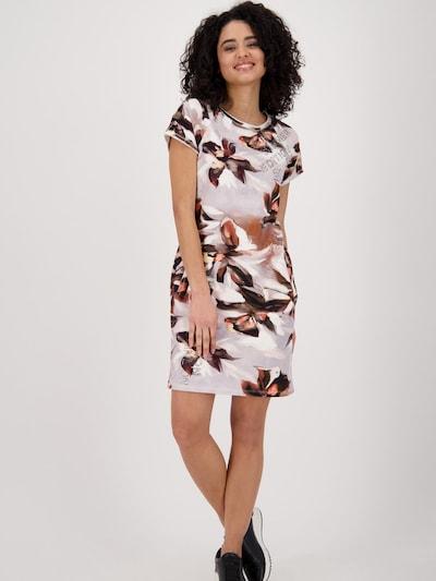 monari Kleid in braun / hellgrau / schwarz / weiß, Modelansicht
