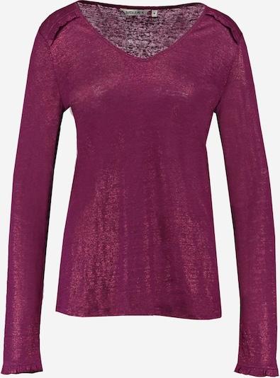 GARCIA Shirt in burgunder, Produktansicht