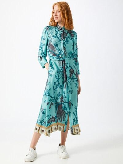 REPLAY Blousejurk in de kleur Turquoise / Gemengde kleuren, Modelweergave