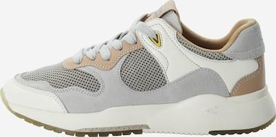 CAMEL ACTIVE Sneaker in hellbraun / grau / weiß, Produktansicht