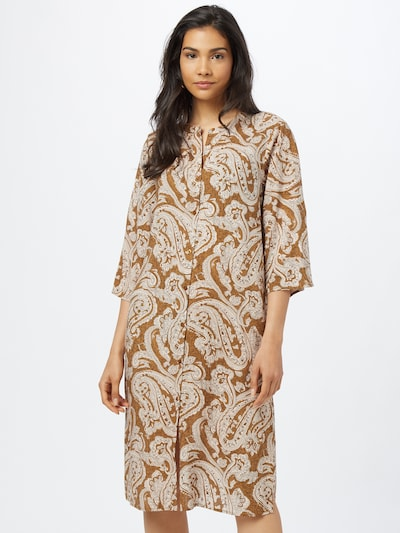 Soyaconcept Kleid 'RAKEL' in hellbraun / puder, Modelansicht